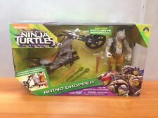 2016 TMNT Out of the Shadows - Rhino Chopper with Exclusive Rocksteady - MISB