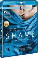 SHAME (Michael Fassbender, Carey Mulligan) Blu-ray Disc NEU+OVP