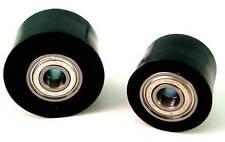 Honda CR 250 R 02-03  Chain Roller Set Rollers Upper + Lower Chainroller Black