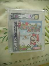 >> VGA 85+ NINTENDO GAME BOY ADVANCE SUPER MARIO ADVANCE PAL UK NEW SEALED! <<