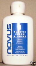 NEW NOVUS PLASTIC CLEAN & SHINE 2FL. OZ. SIZE