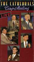 """THE CATHEDRALS....""""CAMP MEETING""""....""""LIVE"""".....OOP LIVE GOSPEL CONCERT VHS VIDEO"""