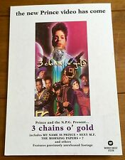 Prince And The New Power Generation - 3 Chains O Gold  Counter Stand