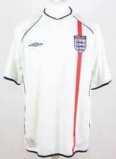 ANGLETERRE Maillot Domicile 01-03 Umbro taille - XL 320 G