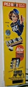 Pez Wasserschiebebilder - für Braun Condomat Automat Umbau auf PEZ Automat