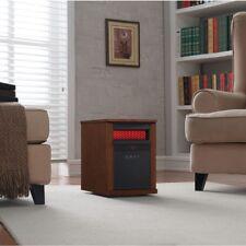 Duraflame 5200-BTU Infrared Quartz Cabinet Electric Space Heater w/ Thermostat