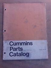 Cummins Parts Catalog Model: C-464 Series 1J-1026-X15