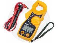 Digital Clamp Multimeter Acdc Voltmeter Ammeter Ohms Volt High Current Meter