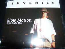Juvenile Slow Motion Feat Soulja Slim Australian CD Single – Like New