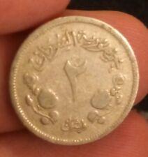 1956 SUDAN 2 Ghirsh KM# 33 two piastres Qirsh Camel Postman middle east coin 249