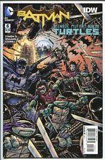 BATMAN TEENAGE MUTANT NINJA TURTLES #6 VARIANT 1:50 DC / IDW 2016 NM