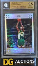 2007-08 Kevin Durant Topps Chrome Refractor Rookie BGS 9.5