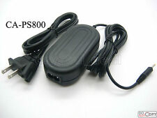 AC Adapter For CA-PS800 Canon Powershot A520 A530 A540 A550 A560 A580 A700 A1200