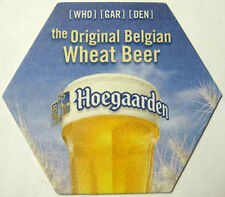 HOEGAARDEN WHEAT BEER Coaster, MAT, BELGIUM, Biere, Copyright 2010 on coaster