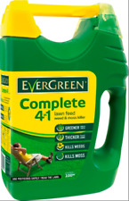 More details for miracle gro evergreen complete 4 in1 lawn feed spreader weed & moss killer 100m²
