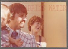 Unusual Vintage Photo Man & Woman Reacting To Funny Out of Frame Friend 710181