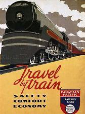 Viajes Transporte Tren Ferrocarril Locomotora Motor Track confort Canadá