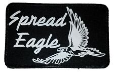 Spread Eagle  Embroidered Patch 3x5  Iron On Funny Sex