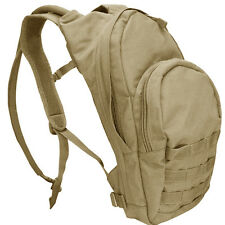 NEW CONDOR #124 TAN MOLLE Hydration Hiking Camping Backpack Pack w/ Bladder NIP
