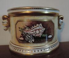 Minoprio Derby Porcelain Flower Vase Flight Barr Worcester Styl Shells Bough Pot