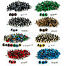 100Pcs 20mm Color Plastic Safety Eyes For Teddy Bear Doll Animal Puppet Crafts