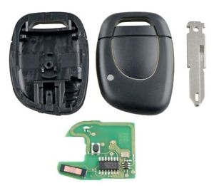 Key 434MHz 433Mhz Transmitter Pcf ID46 Suitable for Renault Clio Twingo Espace