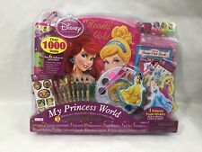 Disney Princess Hearts of Gold Activity Set: Sticker Fun. Stamper Activity& More