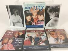Lucille Ball Love Lucy Gift Bundle Lot 6 DVD Lucie Arnaz Signed COA Video Photos