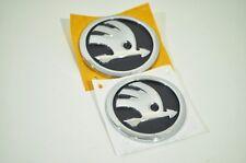 Original SET REAR+FRONT emblem for FABIA,ROOMSTER,OCTAVIA 1Z 5J0853621A AUL