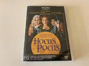 Hocus Pocus Bette Midler & Sarah Jessica Parker Comedy DVD R4 Halloween