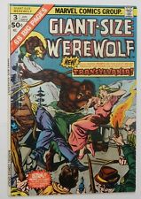 GIANT-SIZE WEREWOLF By Night #3 - FN Marvel 1975 Vintage Comic