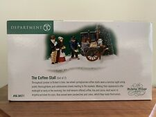 """Dept. 56 Dickens Village """"The Coffee Stall"""" New!"""