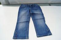 ESPRIT 94107 Damen Jeans Sommer Hose Capri 3/4 Short Bermuda stretch Gr.36 blau