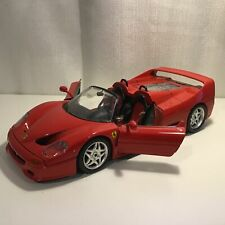 Ferrari F50 Burago 1995 Die Cast Metal Model Car Scale 1/18 #563