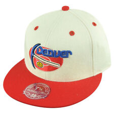 NBA Mitchell Ness Denver Nuggets TS55 Flannel 2 Tone Fitted Hat Cap