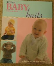 Leisure Arts TOTAL BABY KNITS knitting pattern book