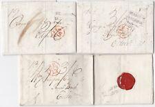 # 1805/10  3 GLASGOW TO EDINBURGH ROYAL BANK OF SCOTLAND LETTERS DALE & MORE