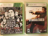 Stranglehold & Sleeping Dogs - 2 Game Crime Lot (Microsoft Xbox 360)