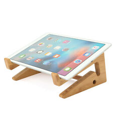 Multifunctional Wooden Detachable Desktop Stand Holder for Laptop