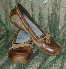 Merrell Marina Brown Boat Shoe Flats Moccasins Sz 7 US