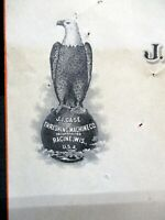 09-18-1918 J I CASE THRESHING MACHINE CO DESMOINES Iowa Bill Head