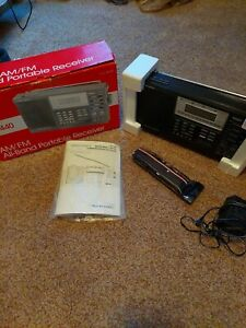 Realistic DX-440 Voice Of The World Shortwave Radio Receiver AM/FM/SW/MW/LW