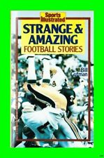 Strange & Amazing Football Stories - Bill Gutman - Excellent Vintage 1986 Book