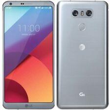LG G6 - 32GB - Ice Platinum (At&t +GSM Unlocked) Smartphone
