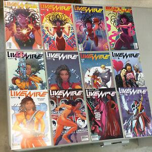 Livewire 1-12 Complete Set 1 2 3 4 5 6 7 8 9 10 11 12 Valiant Comics 2019
