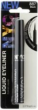 New Sealed Pack of 4 New York Color Liquid Eyeliner, 887 Extreme Black