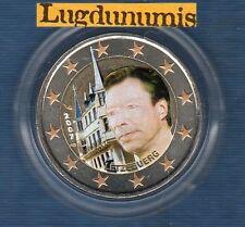 2 euro Commémo Couleur Color - Luxembourg 2007 Palais Grand Ducal Luxembourg