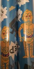 6 meter Star Wars Wrapping Paper Giftwrap Roll Disney