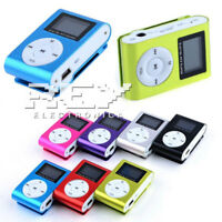 Mini Reproductor MP3 Pantalla LCD y Enganche de Clip, Music Player, Colores vr