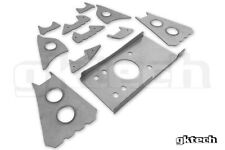 GKTECH V2 S13/180sx/R32 subframe weld in reinforcement plates